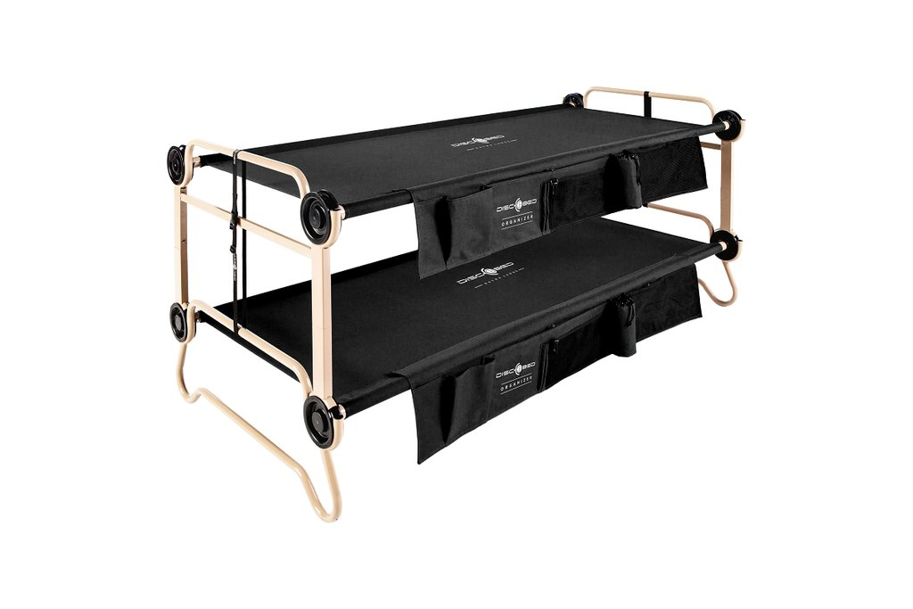 Disc-O-Bed XL With Organizers (Black)